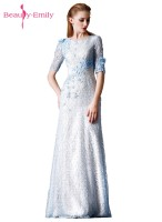 Beauty Emily Beads Lace Mother Of The Bride Dresses 2017 Mermaid Floor Length Long Mother Dresses