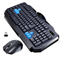 ZGB 8869 Gaming Wireless Keyboard Mouse Combos Flexible 1600DPI 2 4G Gaming Intelligent Mechanical Feel Laser