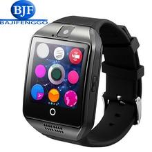 Q18 smartwatch bluetooth smart watch música cámara podómetro conexión android smartphone xiaomi huawei samsung