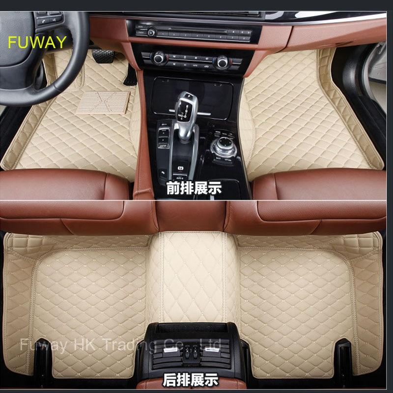 waterproof custom fit for For VOLKSWAGEN VW GOLF 6 /GOLF 6 GTI 13 17 auto car floor mats accessories car styling floor mat