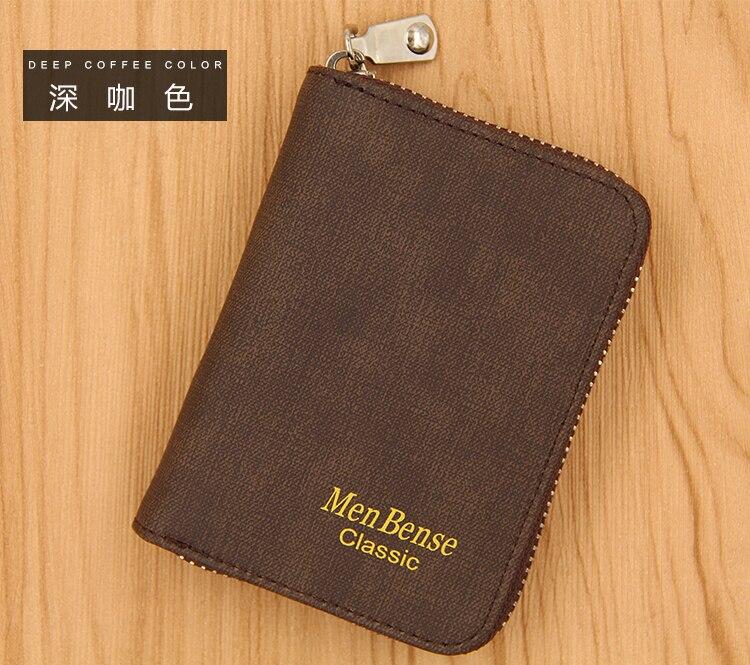 K99_08Menbense Rfid Wallet Blocking Reader Lock ID Bank Card Male Metal Aluminium Credit Card Holder Anti Protect Blocking K99