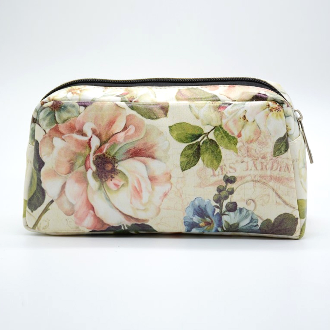 ARESLAND travel Cosmetic Bag organizer women makeup case bag Digital Printing Flower Pattern Travel Toiletries Wash Storage Bag new 2018 portable travel cosmetic bag wash toiletries makeup organizer storage case purse pouch hot sales