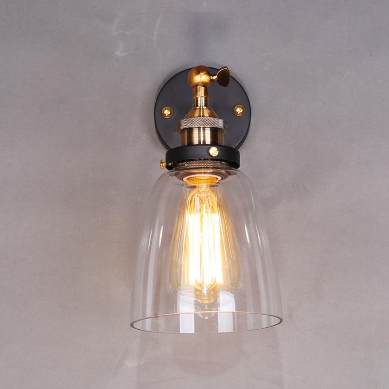 Clear Stock Glass Wall Lamp Modern Indoor Bathroom Hotel Industrial Chandelie Lighting vtronhye flower