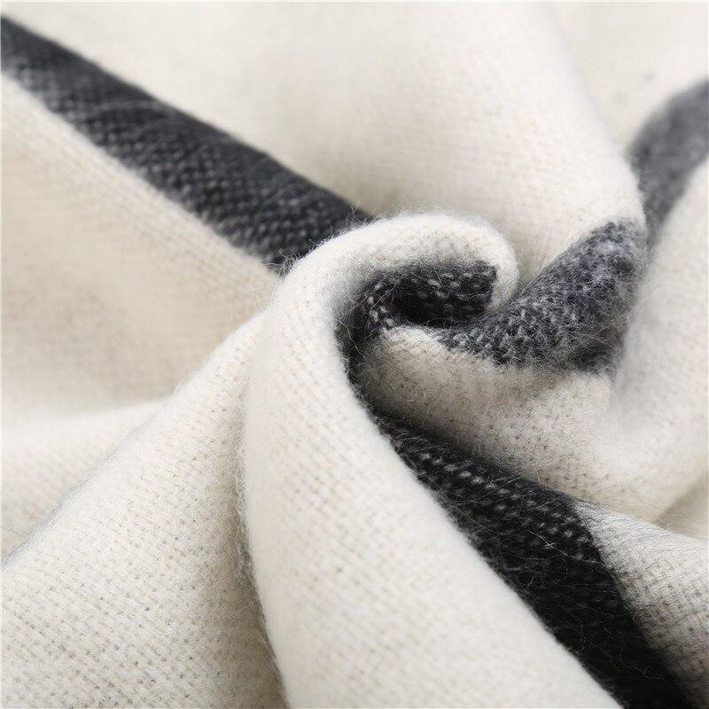 SAN VITALE Wanita Syal Stola Musim Dingin Syal Hangat Merek Mewah - Aksesori pakaian - Foto 6