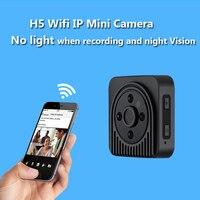Wifi IP Mini Camera Draadloze 720 P HD Infrarood Micro Camera IR Nachtzicht Body Camera Magnetische Bewegingsdetectie Mini DV Kamera