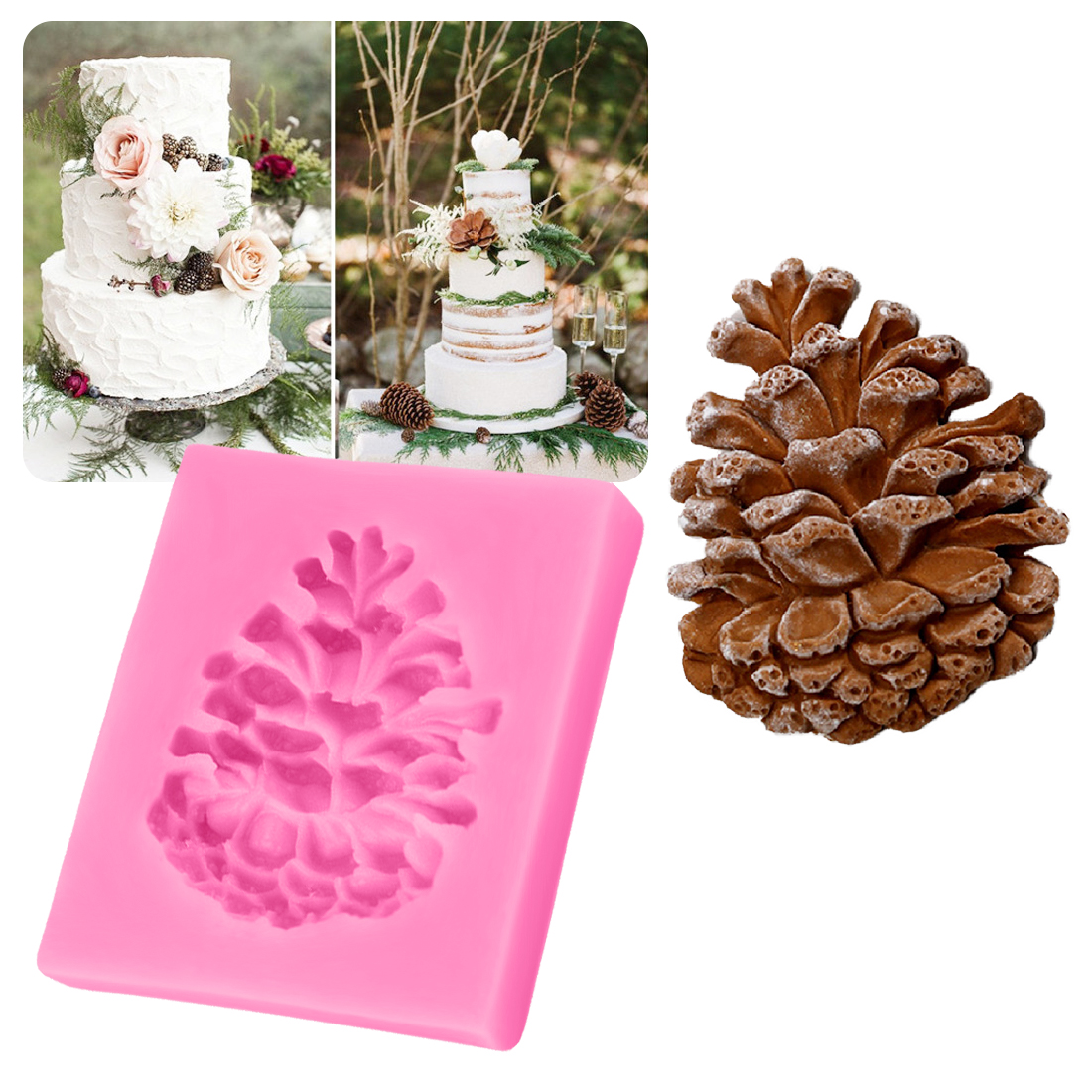 Buy pine cones cake and get free shipping on AliExpress.com