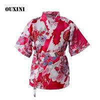 Women's cooking uniform tops japanese chef uniform kitchen jacket Japanese and Korean cuisine restaurant waiter costume