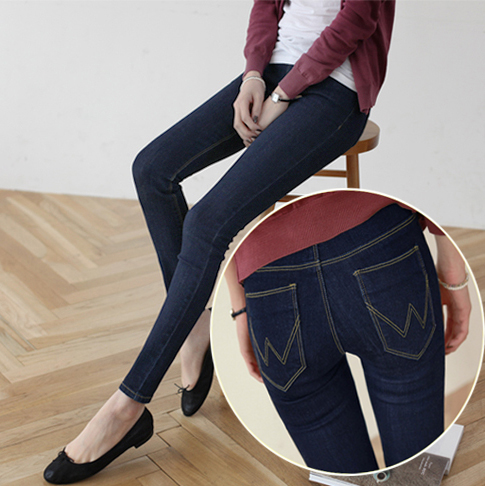 9a4cf69f991 Fashion Korean Style Ladies Girls Black Jeans Feminine Denim Skinny Sexy Slim  Women Pencil Pants Friday Thanksgiving Promotions