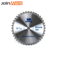 12Inch 300MM Teeth 40T/60T Carbide Circular Saw Blade Woodworking Tool Cutting Disc For Wood Aluminum 300X3X30MM Free Shipping