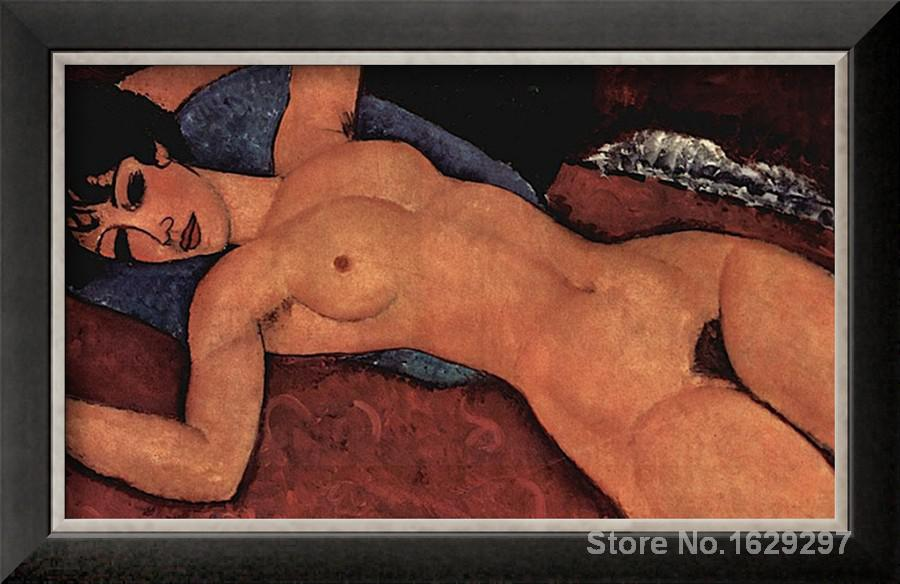 Nude Amedeo Modigliani painting for sale Hand painted High quality