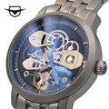 Часы AILANG мужские  автоматические  механические  модные  топовые  брендовые  Tourbillon  часы из нержавеющей стали высокого качества