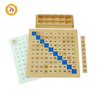цена Montessori Wooden Math Toys for Baby Puzzle Games and Toys Mathematics Wood Educational Montessori kids Math Toys Learning MA018 онлайн в 2017 году