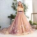 2017 Sexy vestido de Baile Vestidos Quinceanera Princesa Bola Vestido Sem Alças Fora Do Ombro Tule Applique Caixilhos Vestidos Novos da Chegada Prevista
