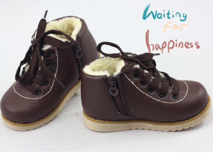 2016 top selling children shoes child boots snow winter boots children male female child cotton-padded shoes