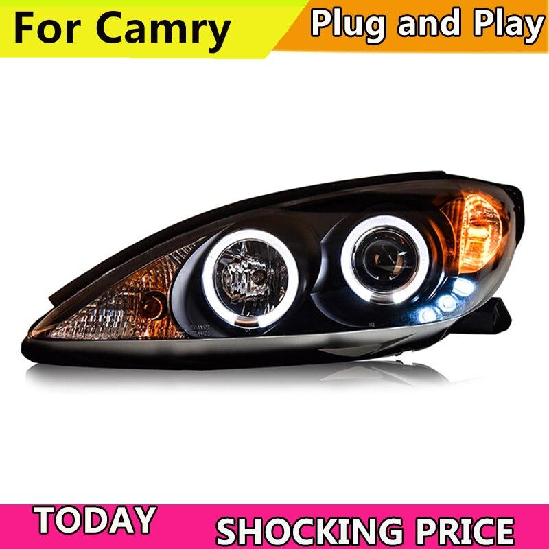 doxa Car Styling for Car head lamp for Camry LED Headlight 2001 2002 2003 2004 2005
