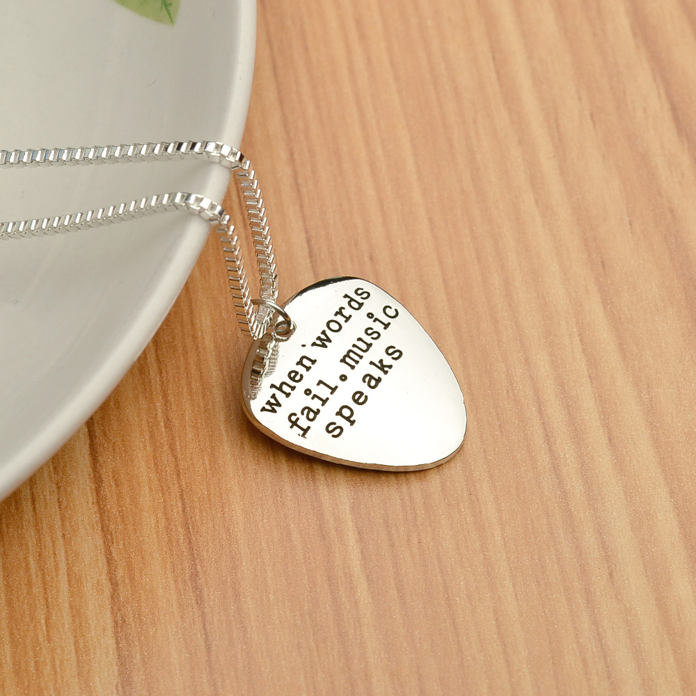 trendy inspirational charm protection img guardian silver pendant stamped prayer necklace angel products