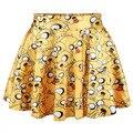 New Children Girls Knee Length Pantskirts Big Kids Casual Short Pants Fashion Girls Skirt Pants 5 P/L