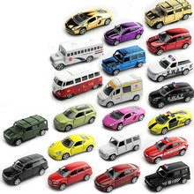 KIDAMI 1:64 Metal Diecast Toy Vehicle Model Car Toy For Children Gift Alloy Car Pull Back Diecast Model , random style 1 pcs pull back gliding aircraft mini diecasts model aircraft rotate propeller toy for children random color 4 style bei jess