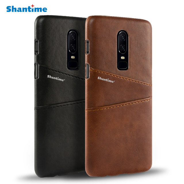 newest 2e906 65c3a US $4.99 |Pu Leather Back Cover For Oneplus 6 Wallet Case For Oneplus 2  Business Case For Oneplus 6T Card Slots Phone Bag Case-in Wallet Cases from  ...
