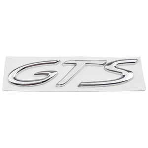 Image 2 - Car Badge Front Side Truck Lid Emblem GTS Logo For Porsche 718 Cayenne Turbo Macan Panamera Exterior Accessories Auto Styling