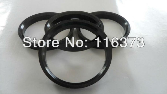 Hub Centric Rings 661mm To 596mm Hubrings For MAZDA RX7 GXL GTU 1986 1987 1988 1989 1990 1991 1992