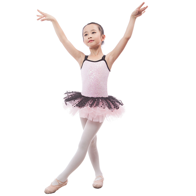e2dcc50a2eae Hot New Pink Sequin Camisole Ballet Tutu for Child Stage Show Girls ...