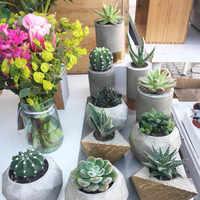 Multiple designs silicone flower pot mold concrete pot molds , candle holder mold ,garden pot mold