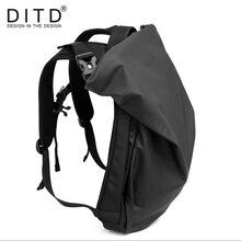 DITD рюкзак для мужчин женщин Оксфорд носимых дышащий Anti Theft ноутбук компьютер школьная сумка подростков путешествия