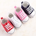 Fashion Star Canvas Baby Shoes 4-Color Newborn Babies Shoes Lace-up Kids Casual Sports Shoes Kids Sapatos Newborn Pre Walker