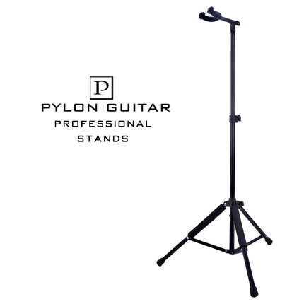 Pylon Guitar Foldable Adjustable guitar stand holder acoustic guitar bass stand 3 holder iron foldable acoustic electric bass guitar guitarra stand holder bracket mount for musical instruments part accessoris