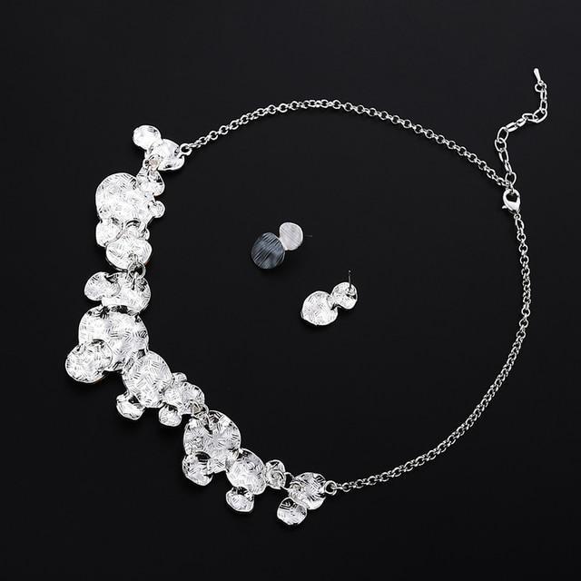 Unique Design Circular Geometric Jewelry set 5