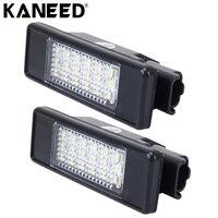 צלחת אור רישיון רכב מנורת LED אביזרי מנורת רכב אחורי מנורות לפיג 'ו סיטרואן 24 SMD-3528