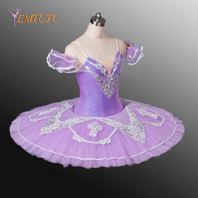 c8570dea7 € 181.21 |Tutú de Ballet profesional púrpura adulto tutú de Ballet clásico  para mujeres bailarina Lila Hada Ballet tutú traje de actuación en ...