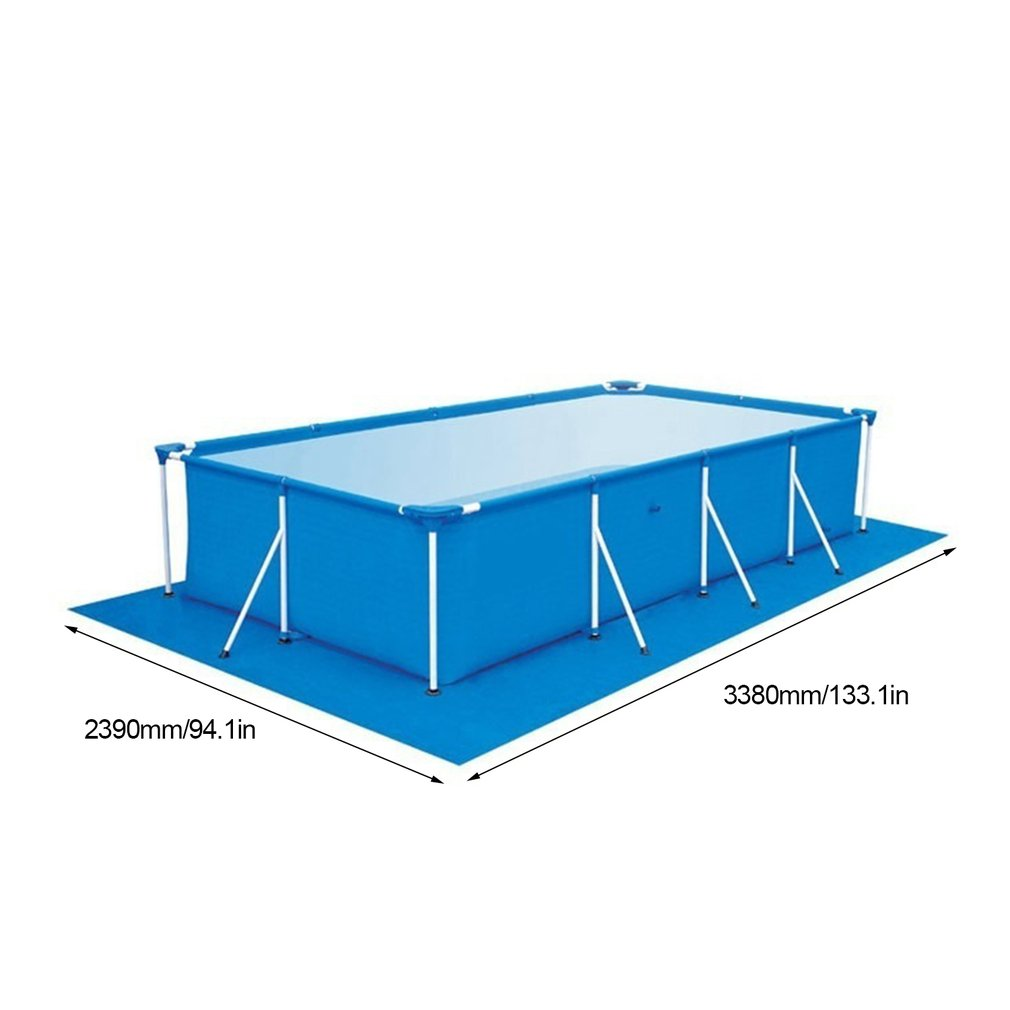 Large Size Swimming Pool Round Ground Cloth Lip Cover Dustproof Floor Cloth Mat Cover for Outdoor Villa Garden Water Pool Fun