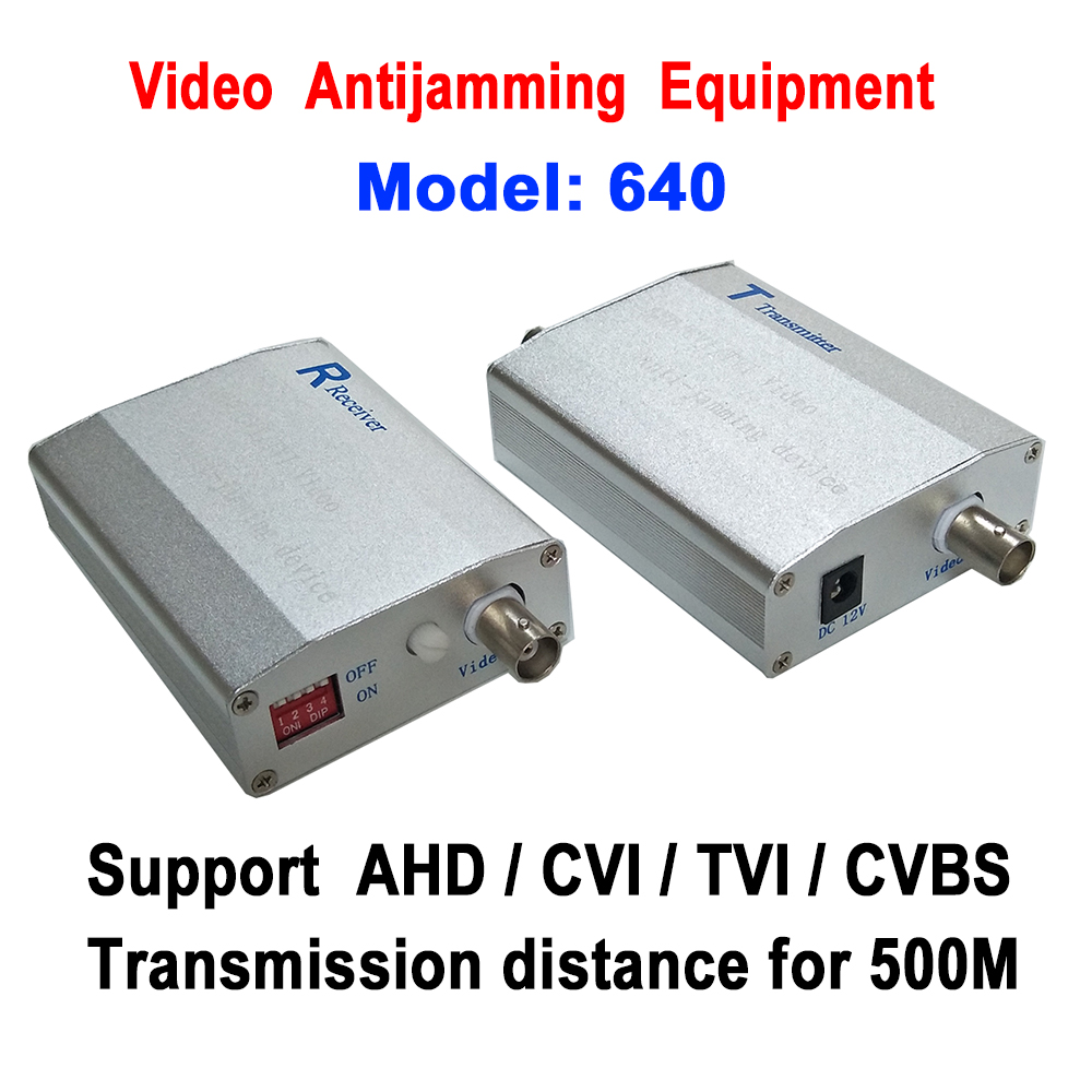 1ch HD CVI/TVI/AHD/CVBS Video Antijamming Device Video Signal Amplifier Repeater 500M for Lift /Tower /Power Plant Harsh Place voxlink ahd tvi cvi video converter full hd 1080p tvi cvi ahd signal to cvbs vga hdmi hd video converter for cctv cameras
