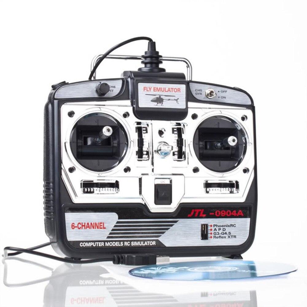 ФОТО  +6CH XTR RC Flight Simulator 6 CH JTL 0904A Airplane CD JTL0904A remote control simulator