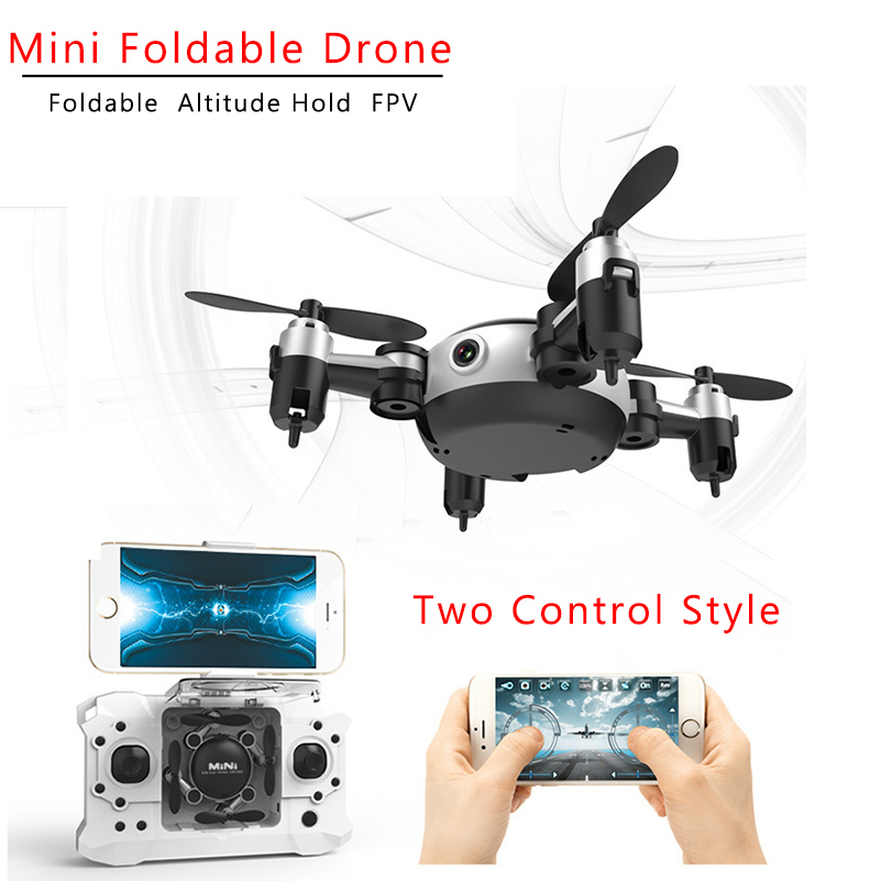 RC Quadcopter Wifi FPV 0.3MP Cámara LED 3D Flip 4CH Mini Drone BNF helicóptero juguete de interior al aire libre KY901 VS JJRC H36