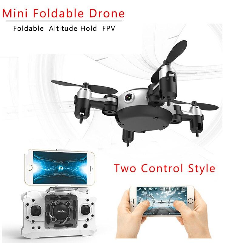 RC Quadcopter Wifi FPV 0.3MP Della Macchina Fotografica LED 3D di Vibrazione 4CH Mini Drone BNF Elicottero Per Indoor Outdoor Giocattolo KY901 VS JJRC H36