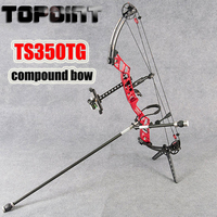 Outdoor Hunting TS350TG Competitive Shooting Compound Bow 36Inch Wheelbase Competition Compound Bow Left and Right Hand Optional