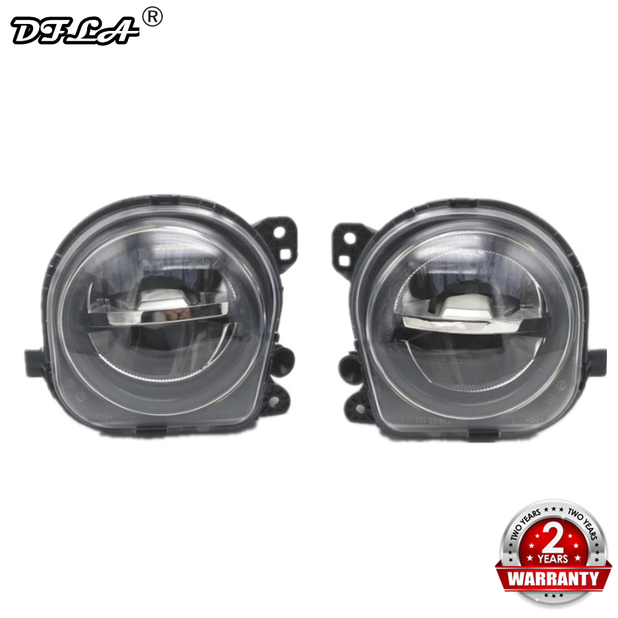 Left Right LED Fog Light Lamp For BMW 5 Series F10 GT F07 LCI 2014-2016