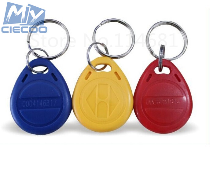5pcs/lot RFID 125Khz Keyfobs TK4100 Key Tag Proximity ID Token Key Tags For Door Access Control Free Shipping hw v7 020 v2 23 ktag master version k tag hardware v6 070 v2 13 k tag 7 020 ecu programming tool use online no token dhl free