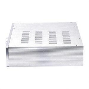 Image 2 - KSA 5 Серебряный алюминиевый усилитель аудио шасси мини усилитель мощности коробка DIY AMP Case