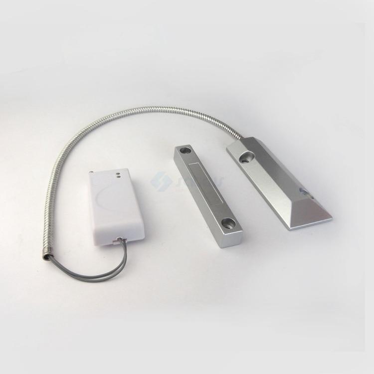 Wireless Metal Rolling Garage Door Magnetic Contact Sensors