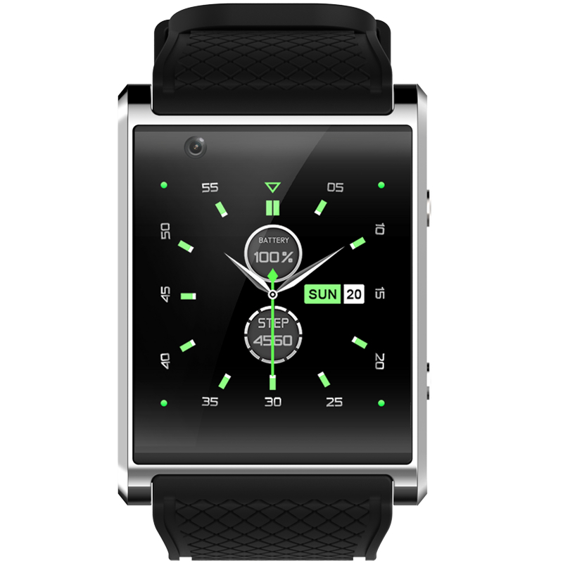X11 Smart Watch Android5.1 Smartwatch MTK6580 With Pedometer Camera 5.0M 3G WIFI GPS WIFI Positioning SOS Card Movement Watch