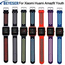 20mm Width for Samsung Gear Sport  S2 Strap Band Silicone Watchband for xiaomi huami amazfit bip Strap Sport Watch Wirst band free delivery 20mm universal silicon watch band for xiaomi huami amazfit bip ticwatch2 gear sport weloop