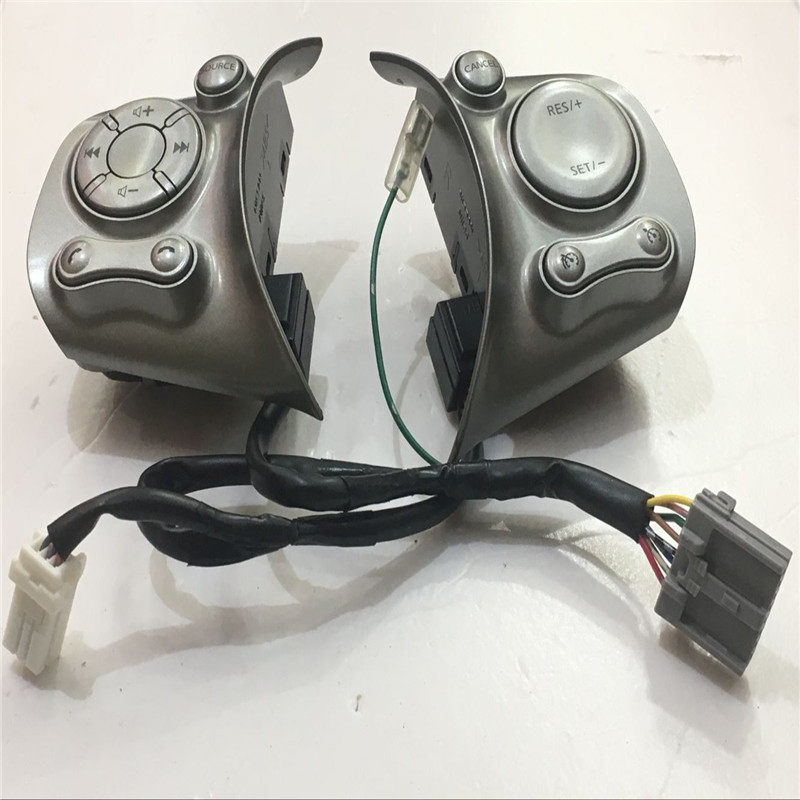 FOR Nissan March k13 steering wheel control buttons in gray free shipping