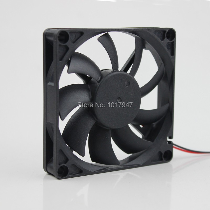 50Pieces LOT Gdstime DC 24V Ball Brushless Radiator <font><b>Cooler</b></font> Cooling Fans 80mm <font><b>80x80x15mm</b></font> 8015s 8015 2Pin image