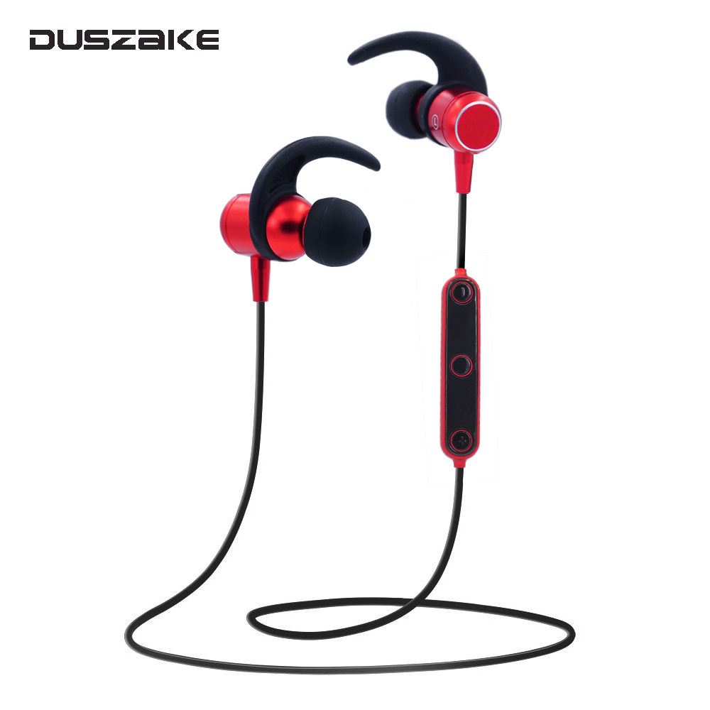 DUSZAKE S2 Sport Bluetooth Headphones Wireless In Ear Hearphone For iPhone Earphone Blue ...