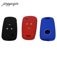 jingyuqin Skin Silicone Key Cover Case for Chevolet Cruze fit Buick Opel VAUXHALL Astra Corsa Antara