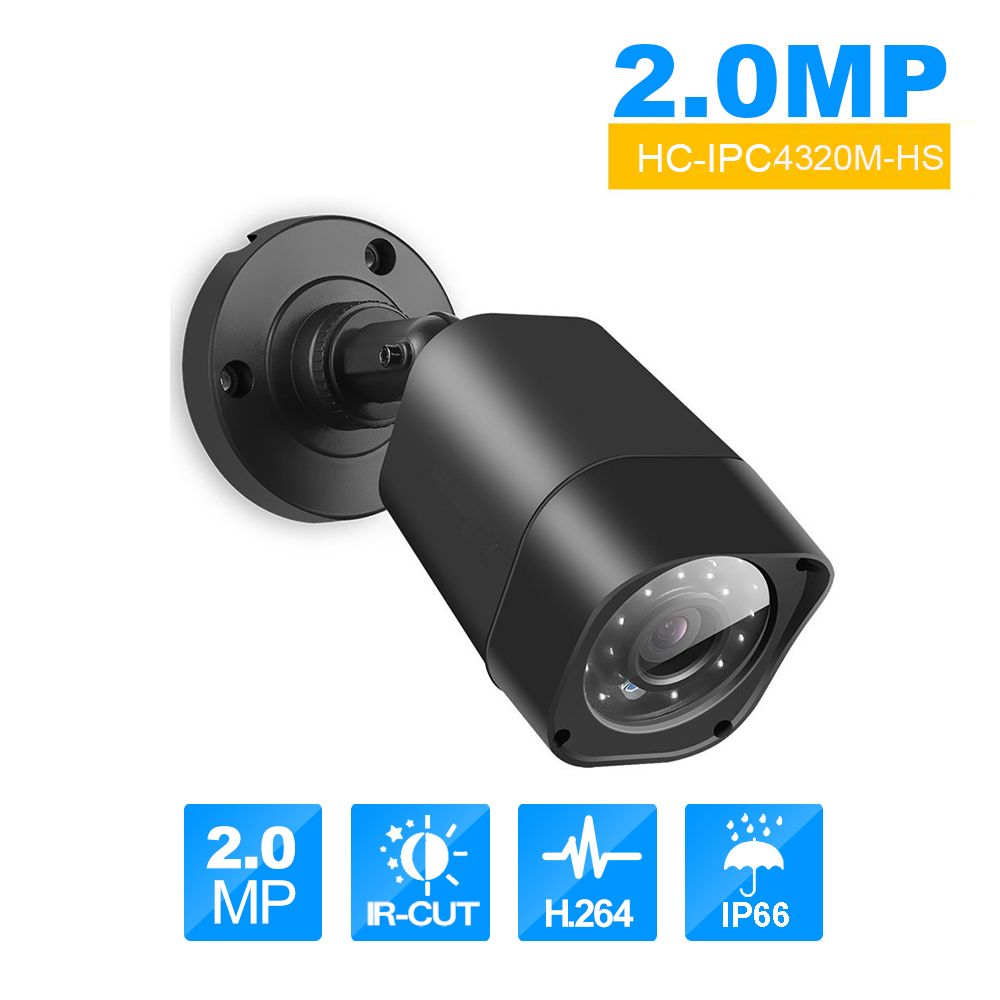 Bullet Ip Camera 2MP HD 1080p Metal Outdoor Waterproof Infrared Light Night Vision Motion Detect Webcam Security Camera экшен камера bullet hd